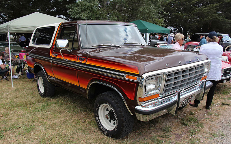 Second Generation Ford Bronco