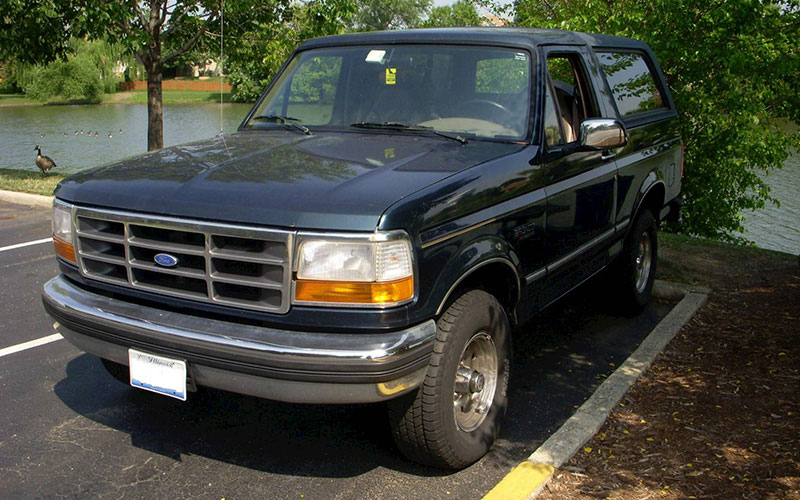 Fifth Generation Ford Bronco