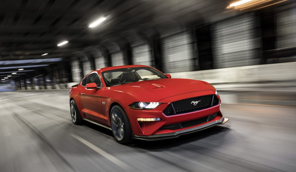 2019 Ford Mustang Colors