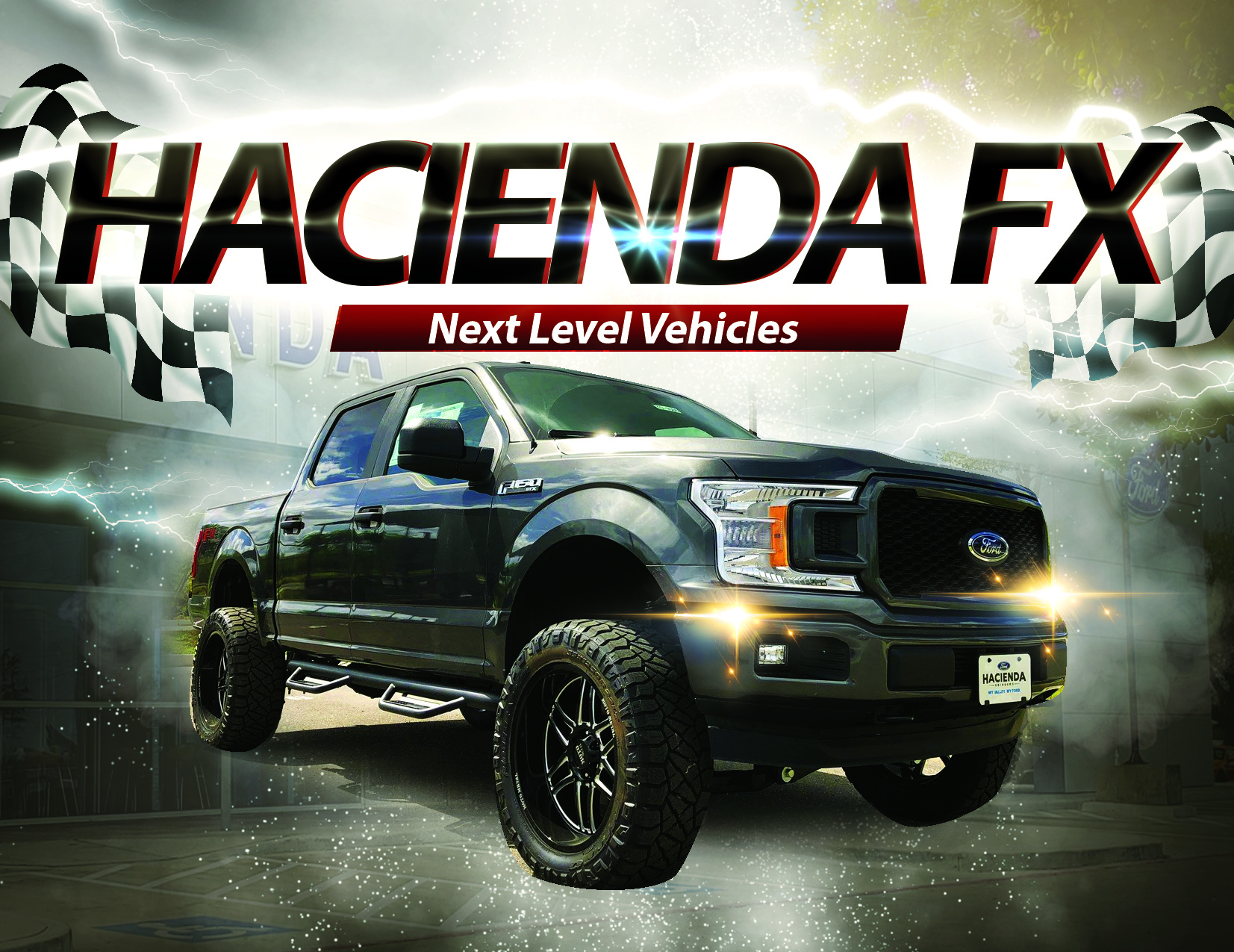 hacienda effects, customize your ride in Edinburg