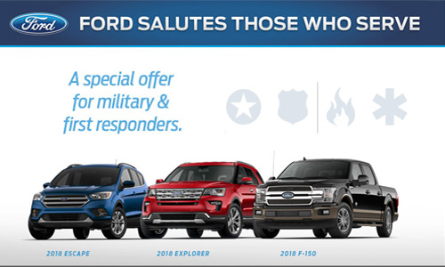 Ford First Responder >> First Responders Program
