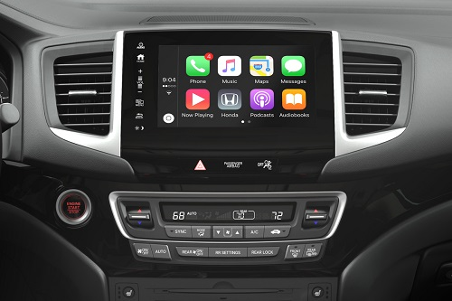 Honda Adds Apple Carplay And Android Auto To 2017 Pilot