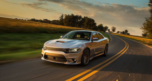 2016 Dodge Charger Sunset