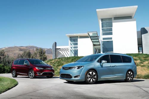 Chrysler Pacifica Models