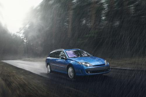 Safe Driving Wet Roads