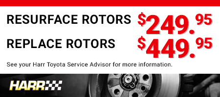Harr Toyota Service Offer