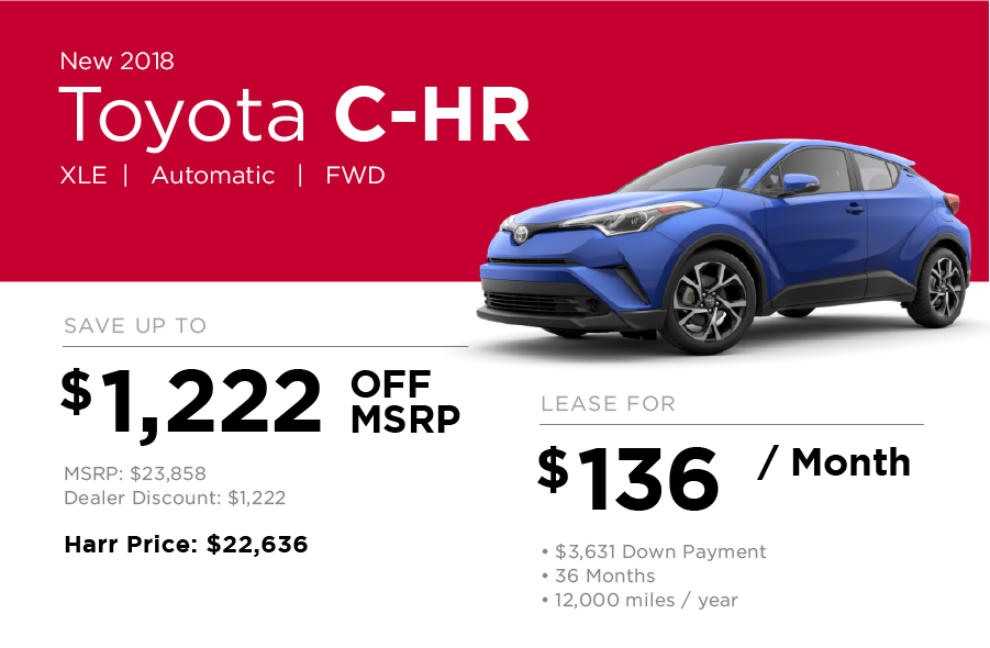 Toyota C-HR Special Offer