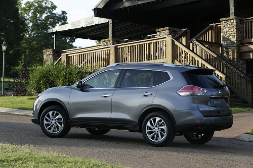 nissan updates the popular rogue crossover