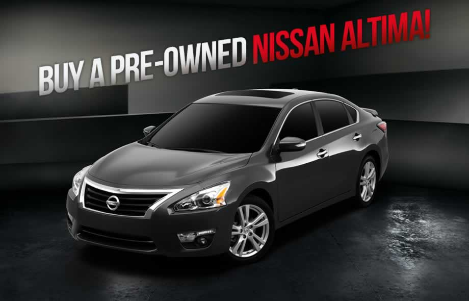 Used Nissan Altima | Nissan Dealership in Meriden, CT