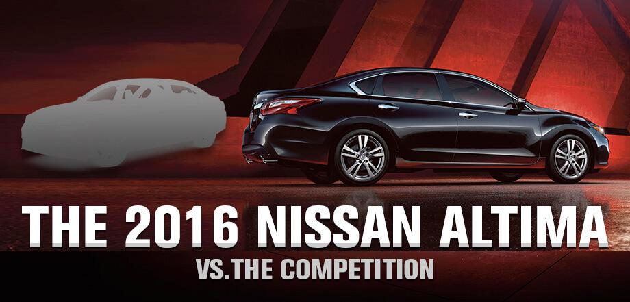 Compare the 2016 nissan altima ct nissan dealership compare the 2016 nissan altima to its rivals near manchester ct m4hsunfo
