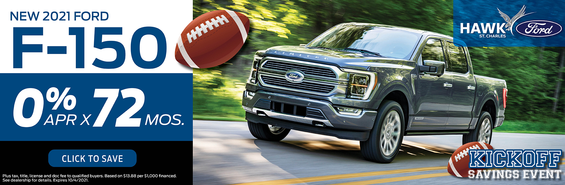 2021 Ford Escape Finance Offer | Hawk Ford of St. Charles