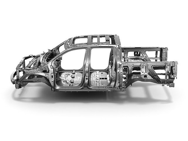 Unit-body Construction - Have a look at the 2017 Ridgeline's new body
