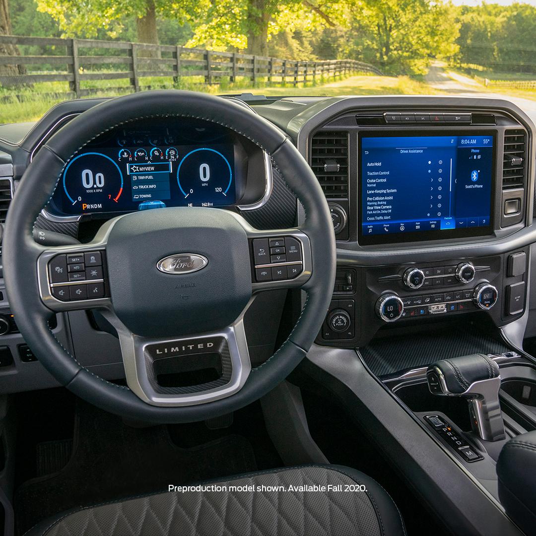 2021 F-150 Steering Wheel