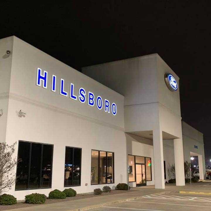 Hillsboro Ford Banner