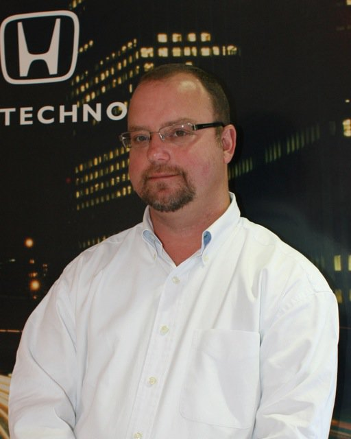 Jaime Hasting. New Honda Manager