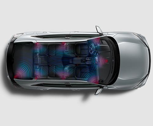 2017 Honda Civic Hatchback 12-speaker premium audio system
