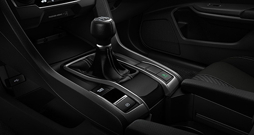 2017 Honda Civic Hatchback 6-speed manual transmission