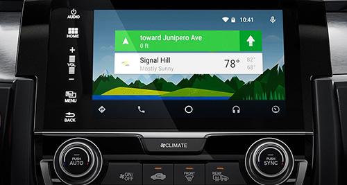 2017 Honda Civic Hatchback Android Auto™