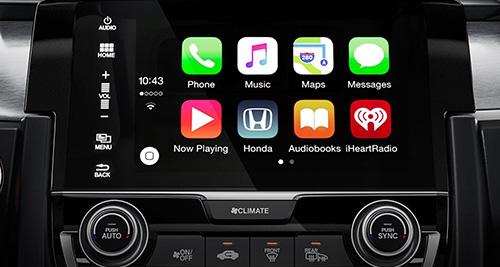 2017 Honda Civic Hatchback Apple CarPlay™