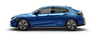 new 2017 Honda Civic Hatchback EX-L Navi model inventory in Downtown Los Angeles