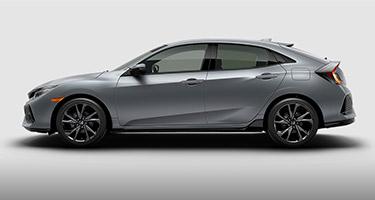 2017 Honda Civic Hatchback driverside view