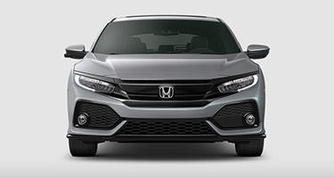 2017 Honda Civic Hatchback grille