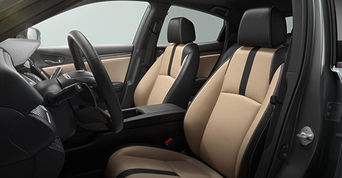 2017 Honda Civic Hatchback heated seats
