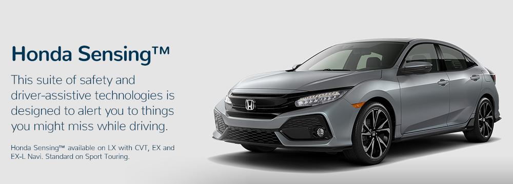2017 Honda Civic Hatchback Honda Sensing™