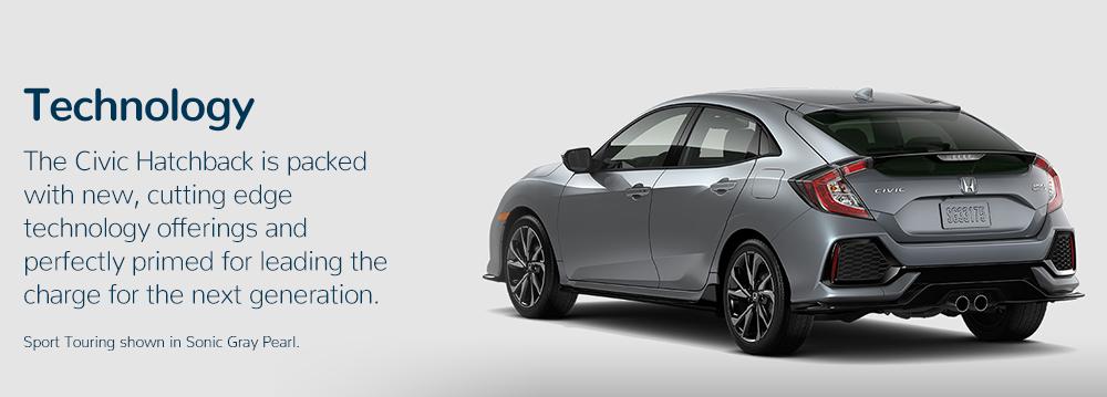 2017 Honda Civic Hatchback technology