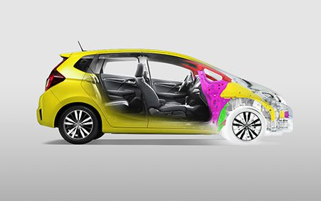2017 Honda Fit body structure
