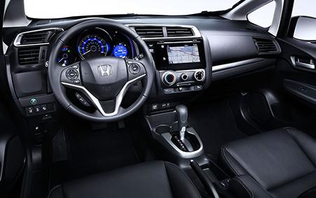 2017 Honda Fit Cabin