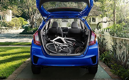 2017 Honda Fit Utility Mode