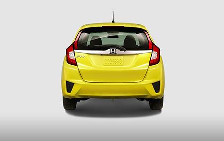 2017 Honda Fit Rear View