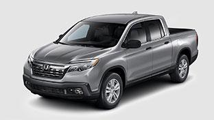 new 2017 Honda Ridgeline RT model inventory at Honda of Downtown Los Angeles