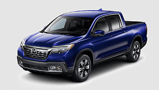 new 2017 Honda Ridgeline RTL-T model inventory at Honda of Downtown Los Angeles
