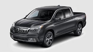 new 2017 Honda Ridgeline RTL model inventory at Honda of Downtown Los Angeles