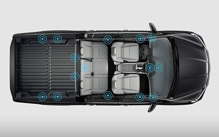 2017 Honda Ridgeline audio system