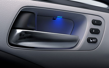 2017 Honda Ridgeline memory seat