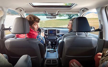 2017 Honda Ridgeline full size truck cabin