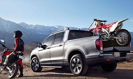2017 Honda Ridgeline off road utility