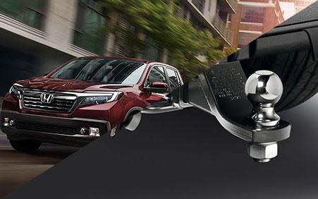 2017 Honda Ridgeline towing package