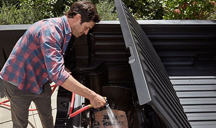 2017 Honda Ridgeline truck bed drain plug