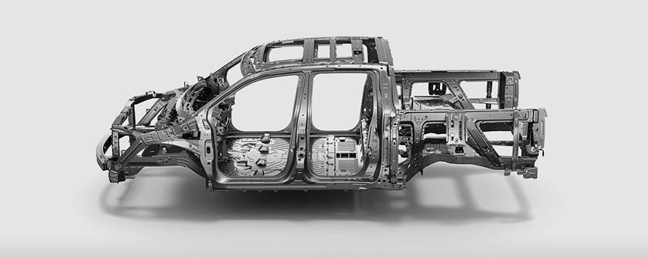 2017 Honda Ridgeline unit body built