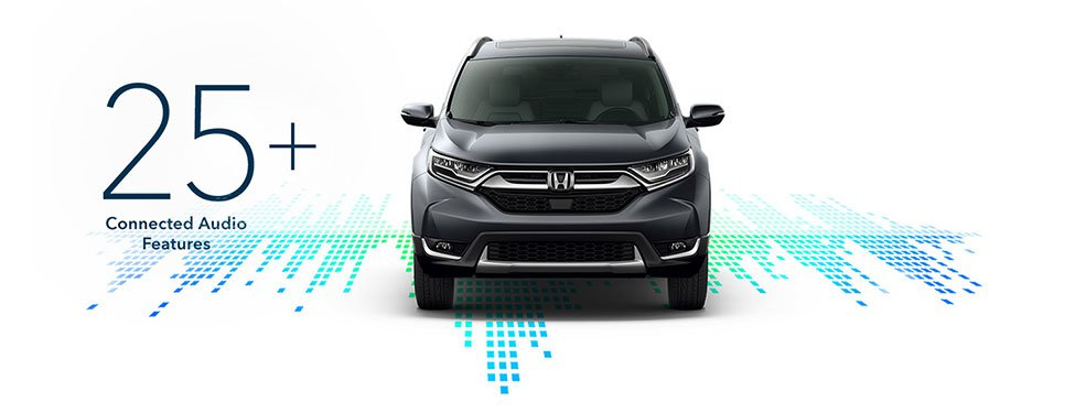 2017 Honda CR-V connected audio