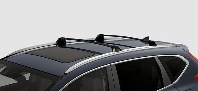 2017 Honda CR-V roof rails & crossbars