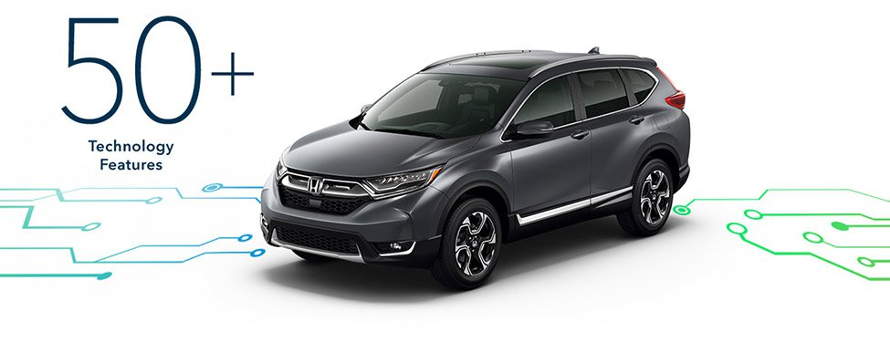 2017 Honda CR-V connected technology