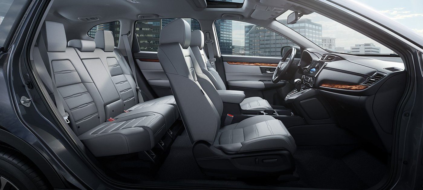 2017 Honda CR-V comfortable seating