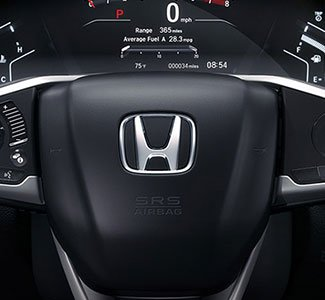 2017 Honda CR-V One-Touch 2nd-Row Seats