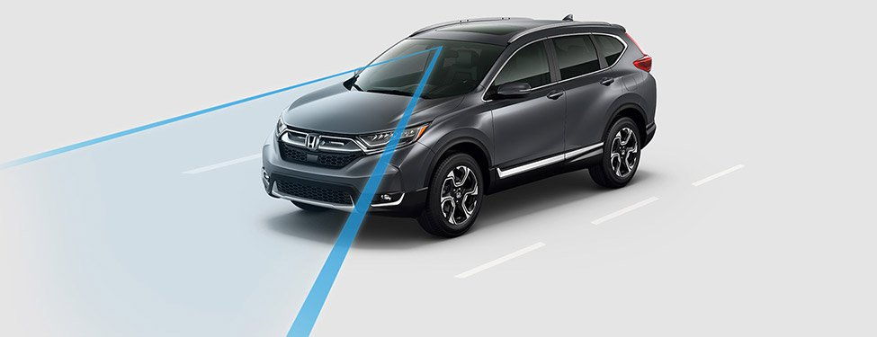2017 Honda CR-V lane keeping assist system