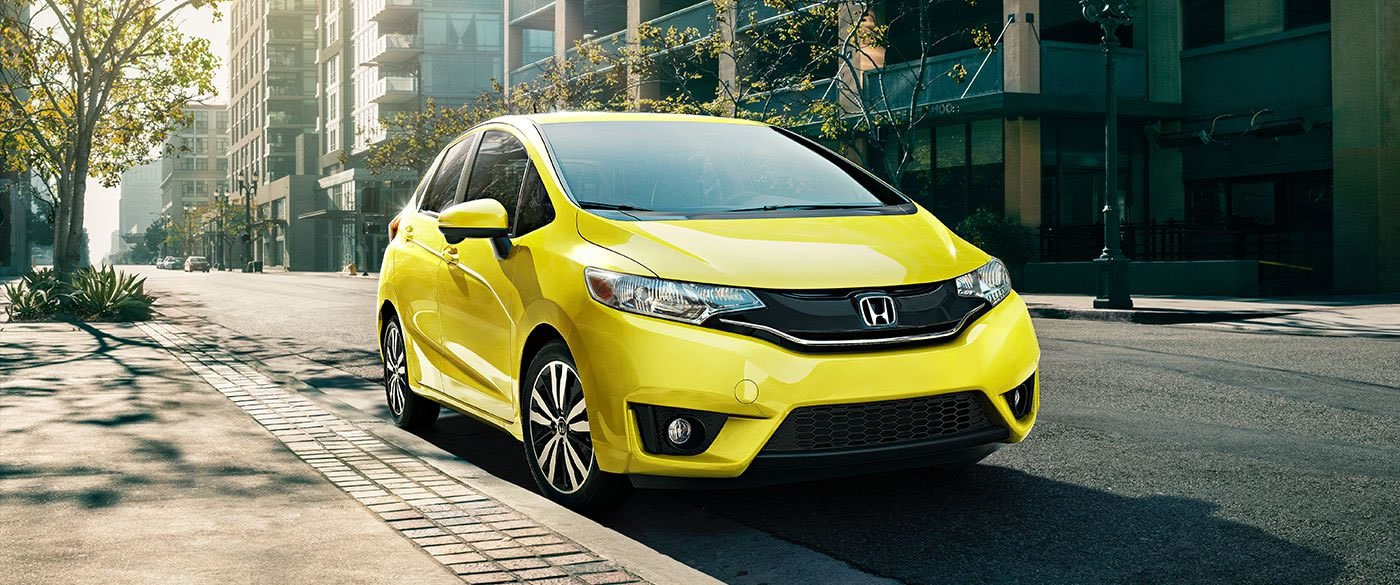 2017 Honda Fit Front View
